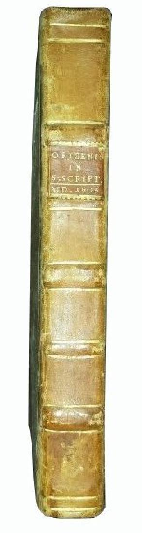 [Aldine, Bible exegesis] Origenes 1503 - 2