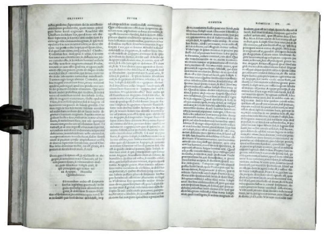 [Aldine, Bible exegesis] Origenes 1503 - 4