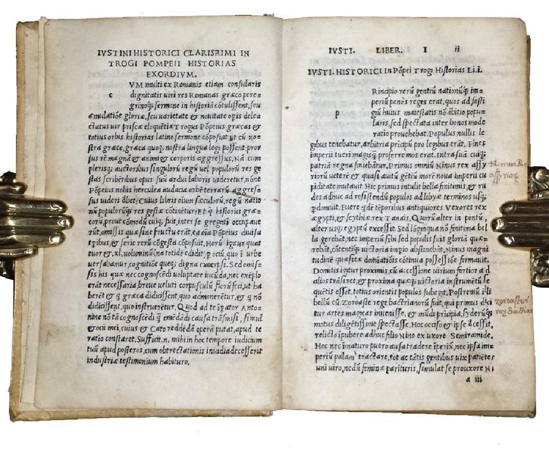 [Macedonia, History of Philip] Iustinus, 1510 - 3
