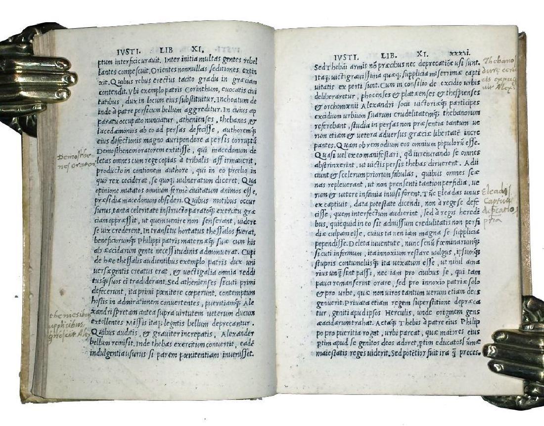 [Macedonia, History of Philip] Iustinus, 1510 - 6
