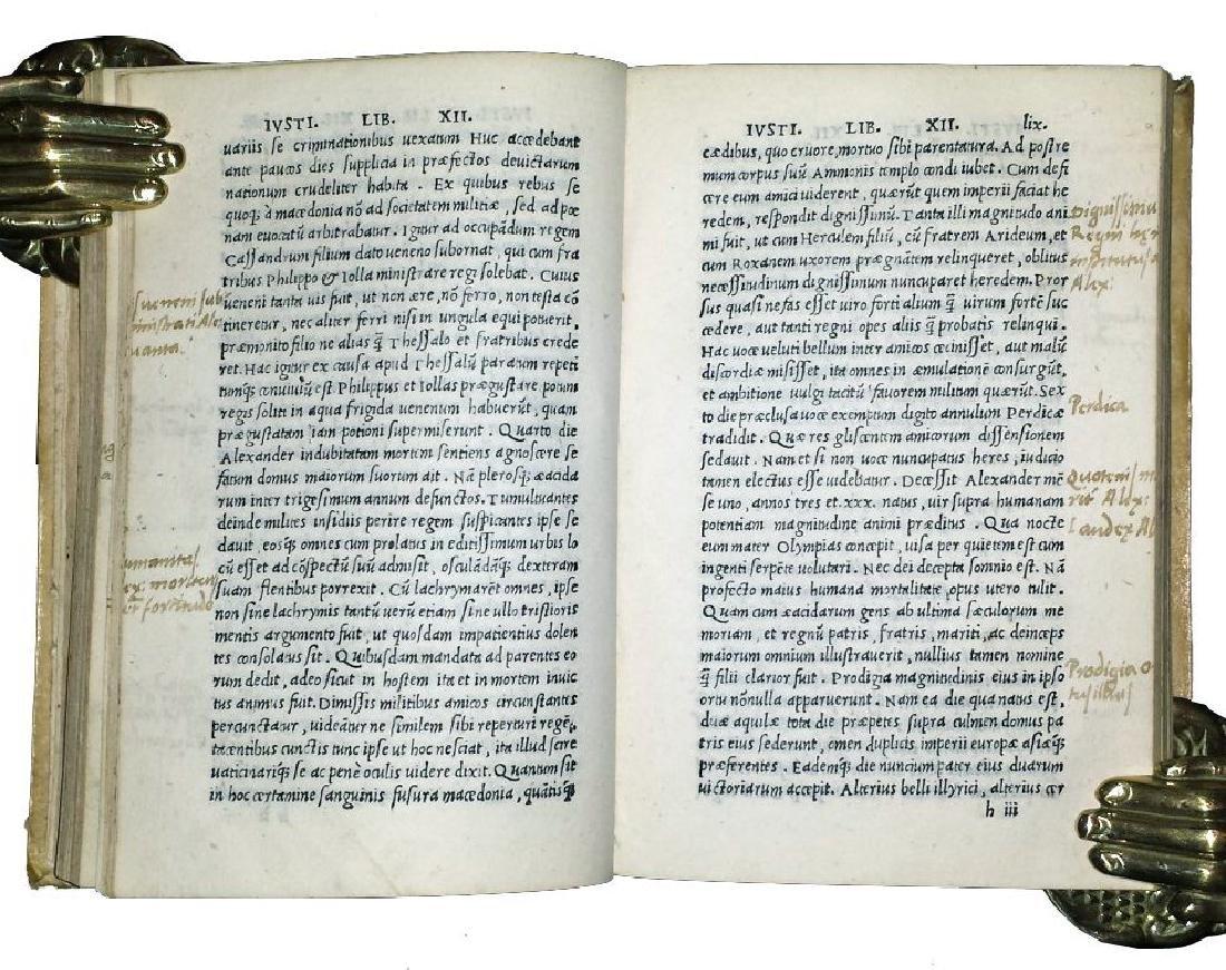 [Macedonia, History of Philip] Iustinus, 1510 - 7