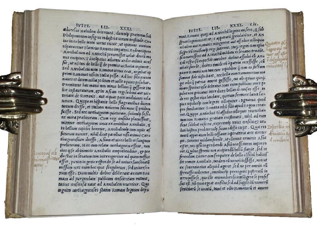 [Macedonia, History of Philip] Iustinus, 1510 - 8