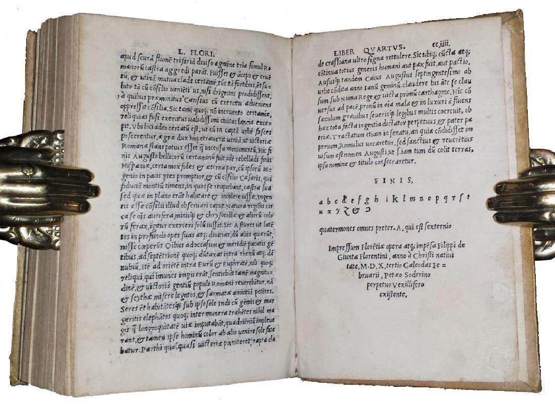 [Macedonia, History of Philip] Iustinus, 1510 - 9