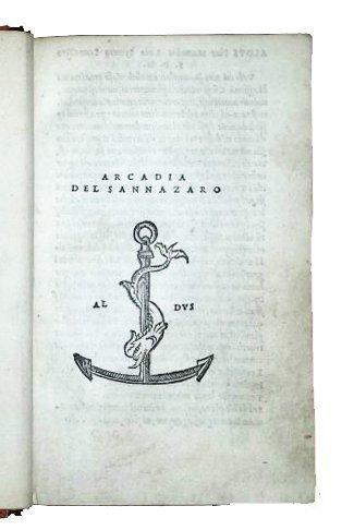 [Aldine, Pastoral Poetry] Sannazzaro, Arcadia, 1514