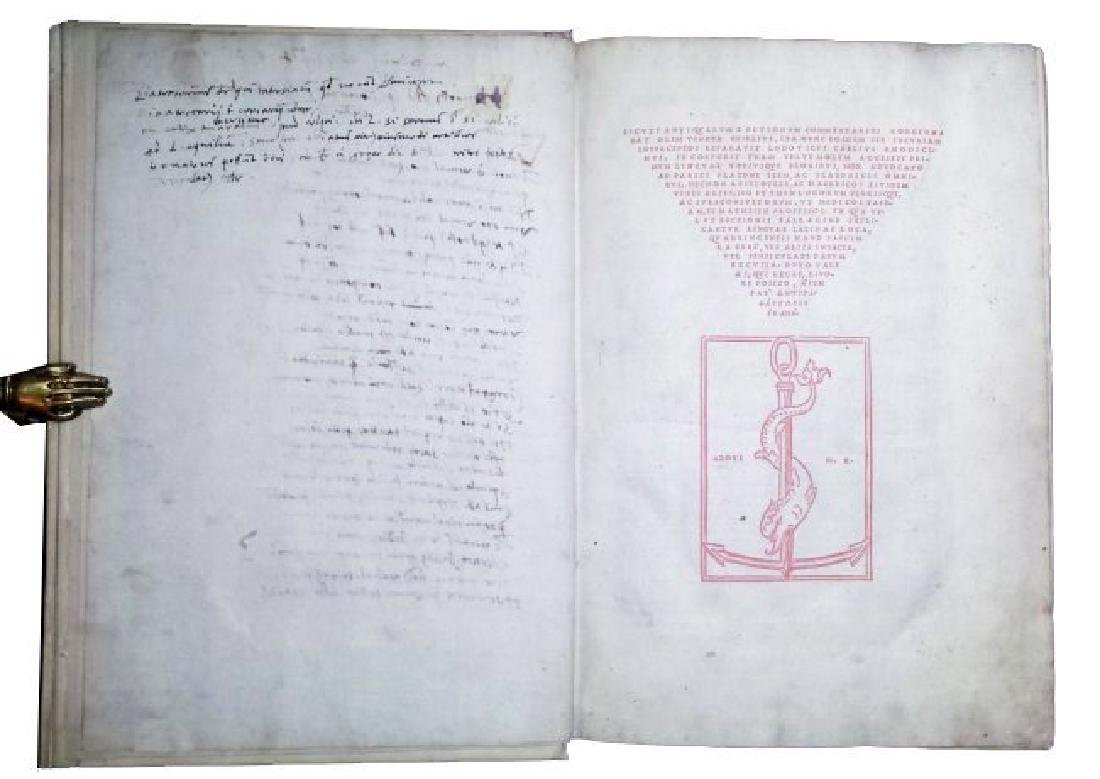 [Aldine Encyclopedia] Ricchieri, 1516