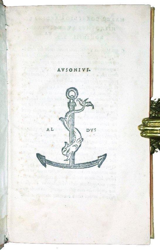 [Aldine, Bordeaux Wine] Ausonius, Opera, 1517