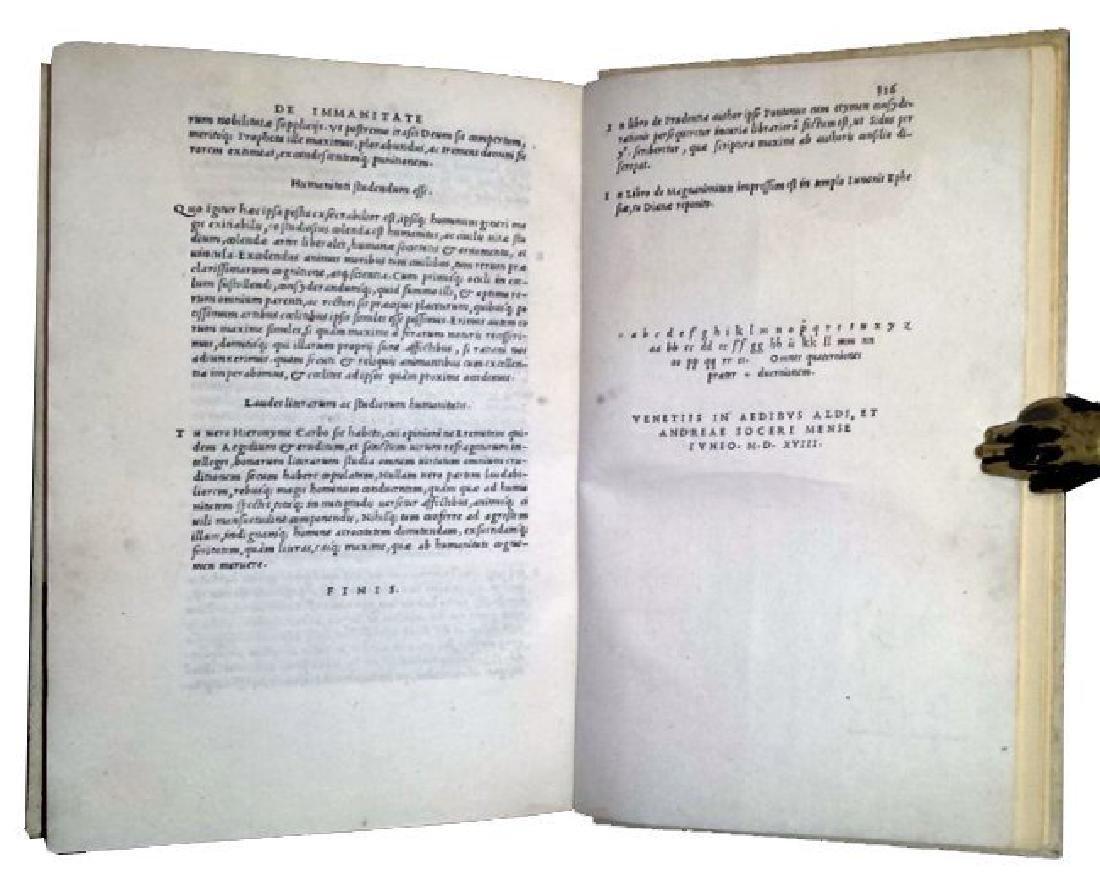 [Astrology, Forbidden Books] Pontano 1518-19, 3 vols - 4