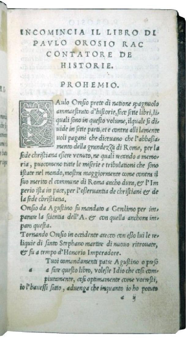 [Hispanic books] Orosius, 1520 - 2