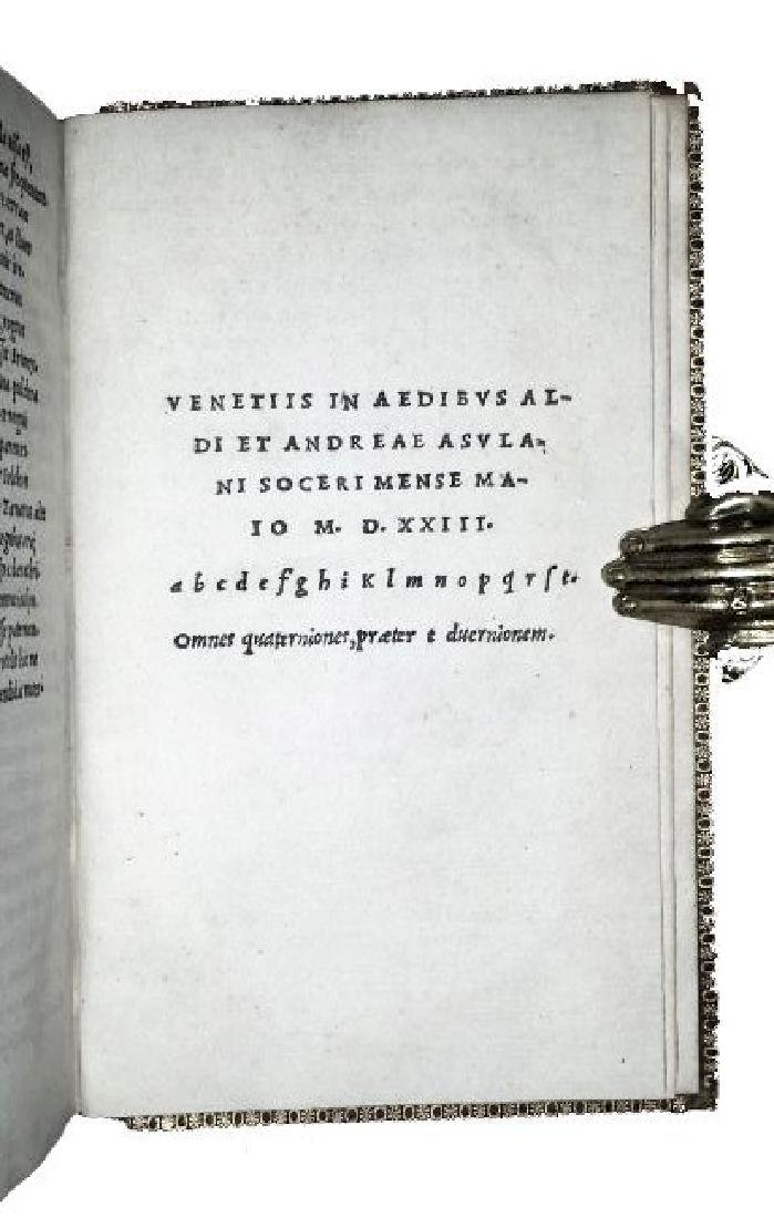 [Argonauts, Aldine] Valerius Flaccus, 1523 - 4
