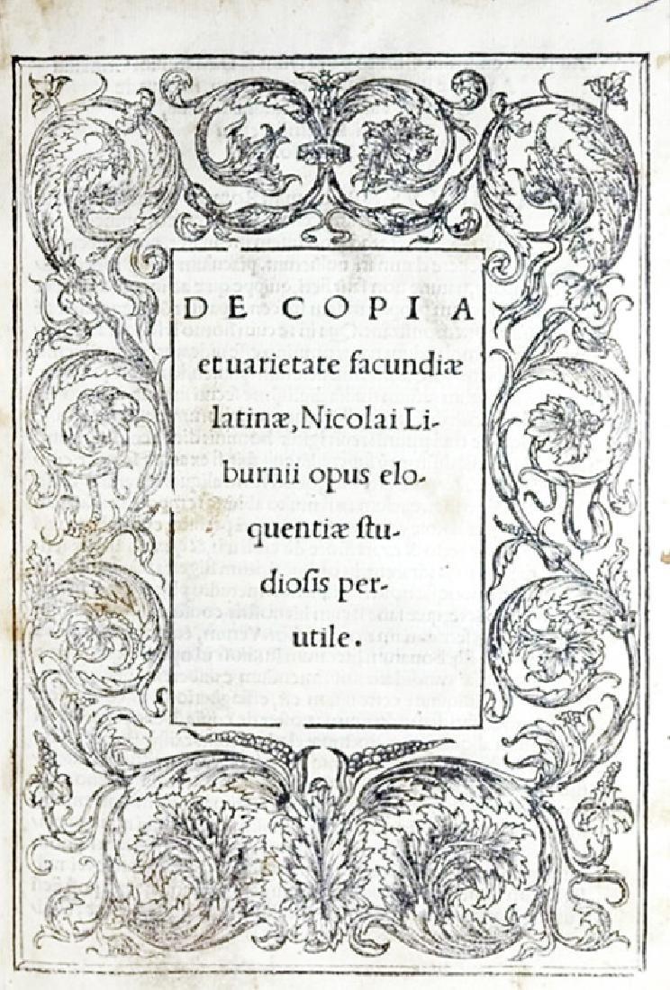 [Latin Language] Liburnio, 1524
