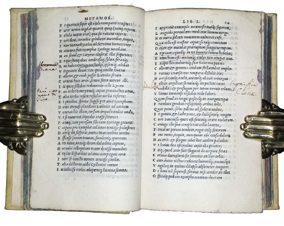 [Latin Poetry] Ovidius, 1534 - 5