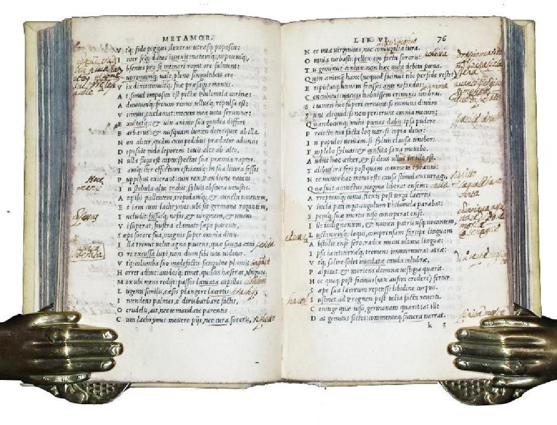 [Latin Poetry] Ovidius, 1534 - 6