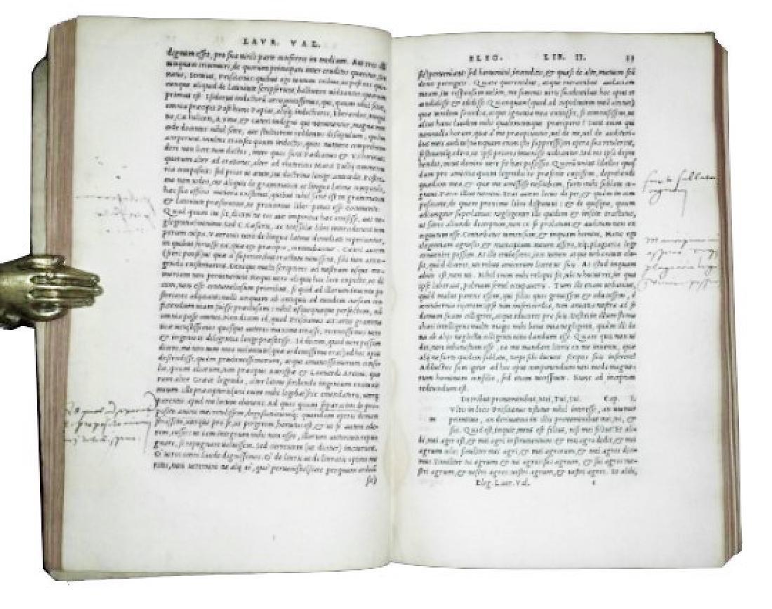 [Aldine, Latin Language] Valla, 1536 - 3