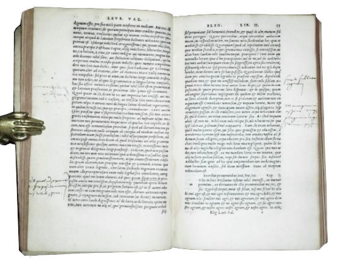 [Aldine, Latin Language] Valla, 1536 - 5