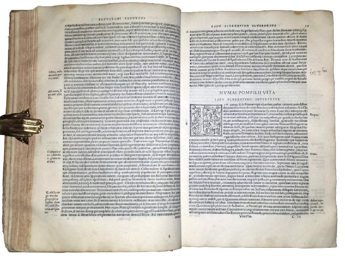 [Greek History, Celebrities] Plutarchus, 1538 - 8