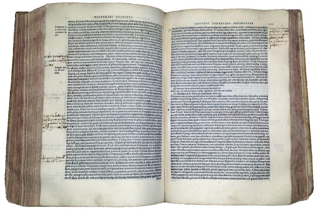 [Greek History, Celebrities] Plutarchus, 1538 - 9