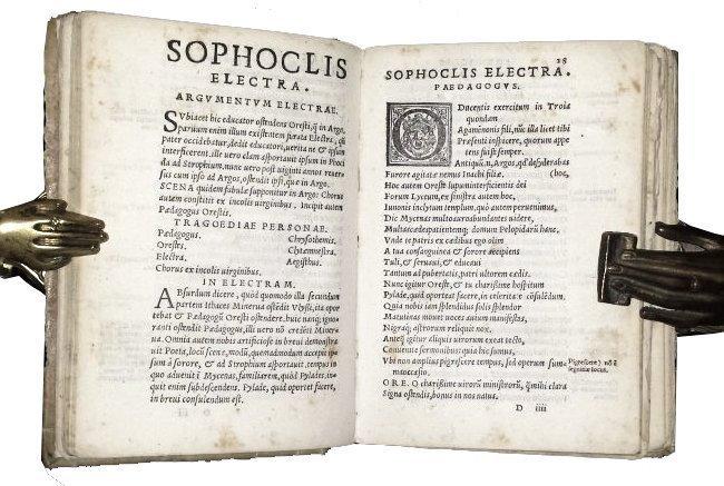 [Greek tragedies] Sophocles, 1543 - 2
