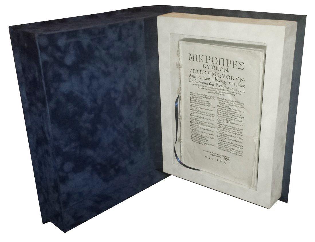 [Church, Forbidden Books] Mikropresbutikon, 1550