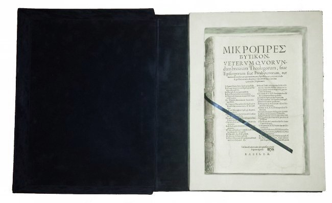 [Church, Forbidden Books] Mikropresbutikon, 1550 - 9