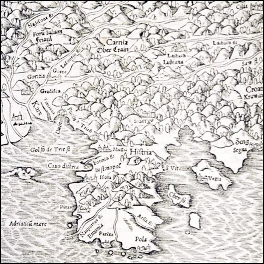 [Cosmography, Explorations] Piccolomini, 1551