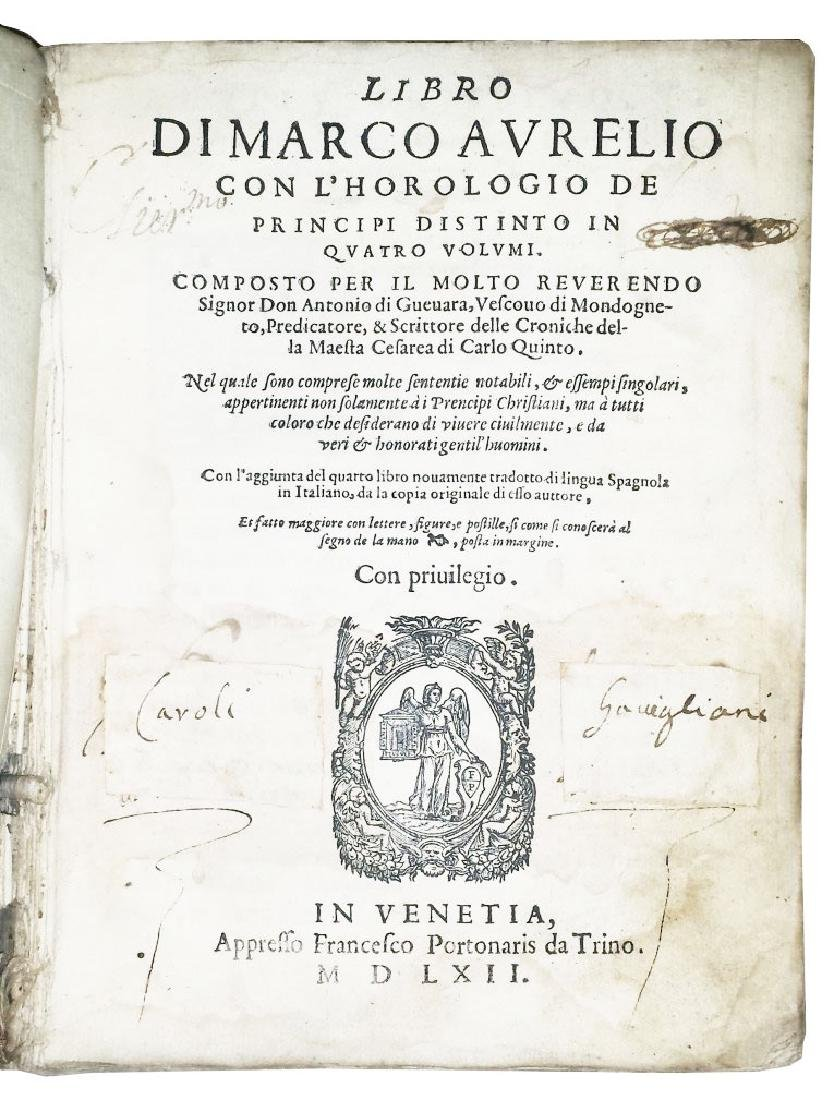 [Education of princes, Pedagogy] Guevara, 1562