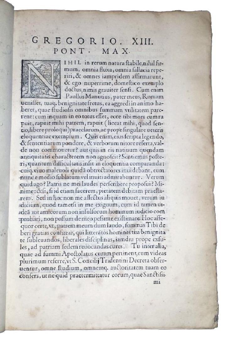 [Erasmus, Adages, Aldus] Manuzio, Adagia, 1575 - 3