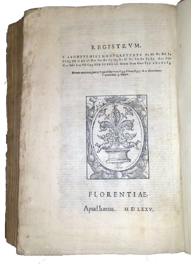 [Erasmus, Adages, Aldus] Manuzio, Adagia, 1575 - 7