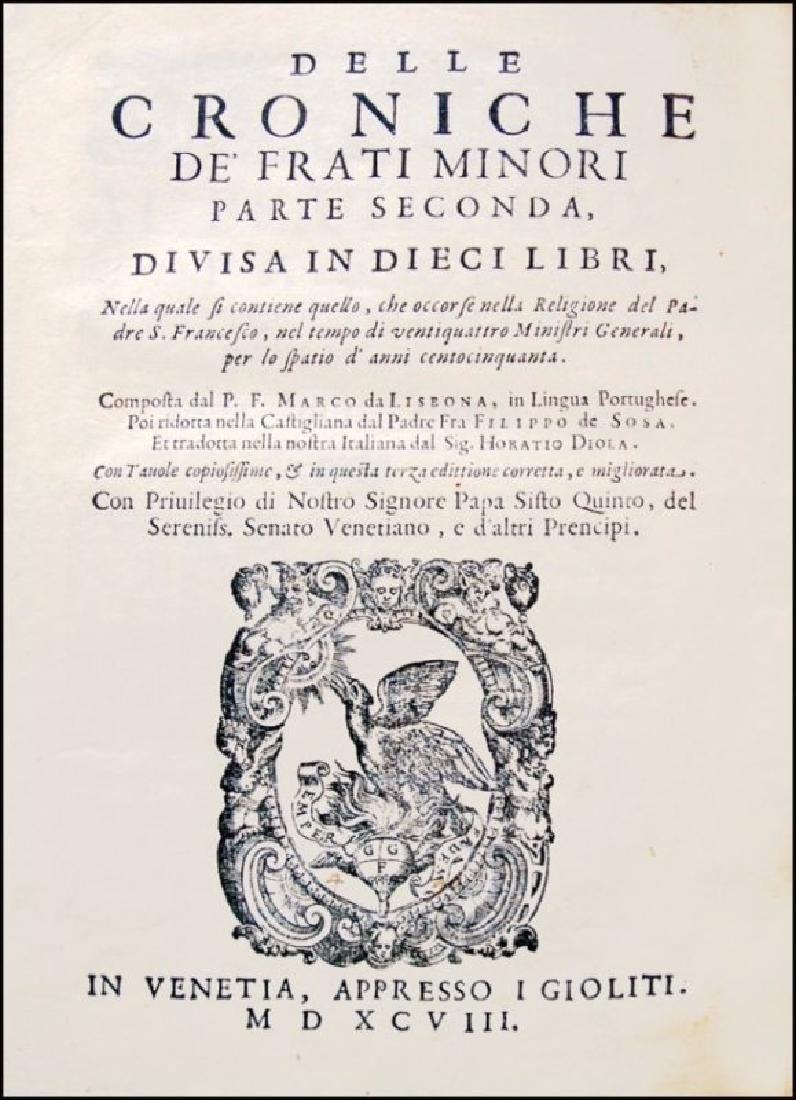 [History of Franciscan Orders] De Lisboa, 3 vols - 3