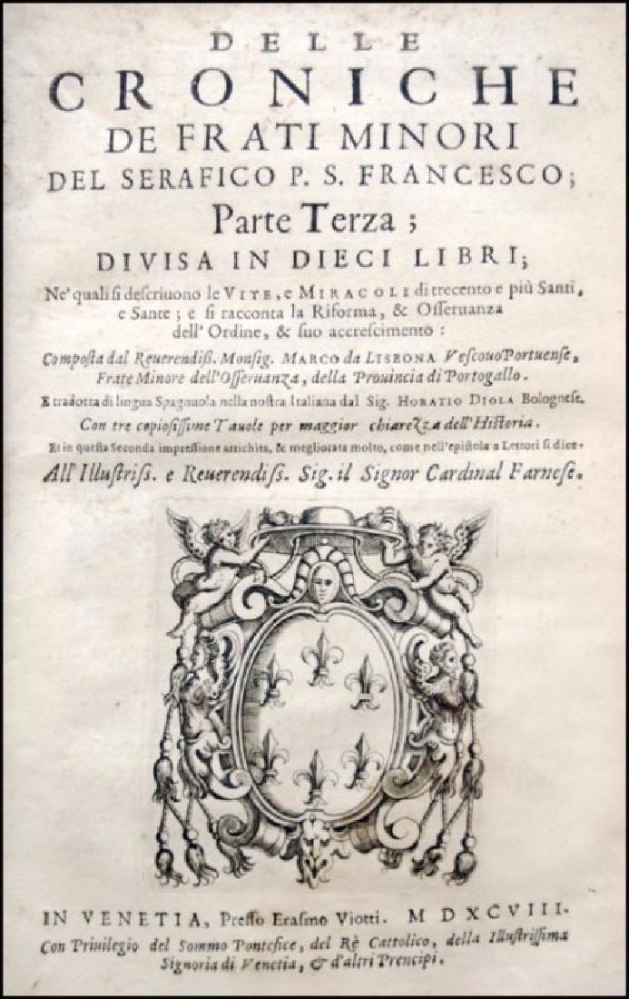 [History of Franciscan Orders] De Lisboa, 3 vols - 4