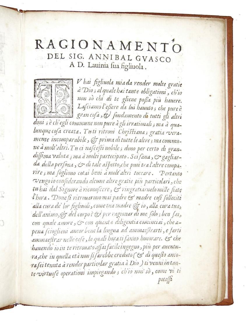 [Courtesy Books, Women] Guasco, Ragionamento, 1586 - 5