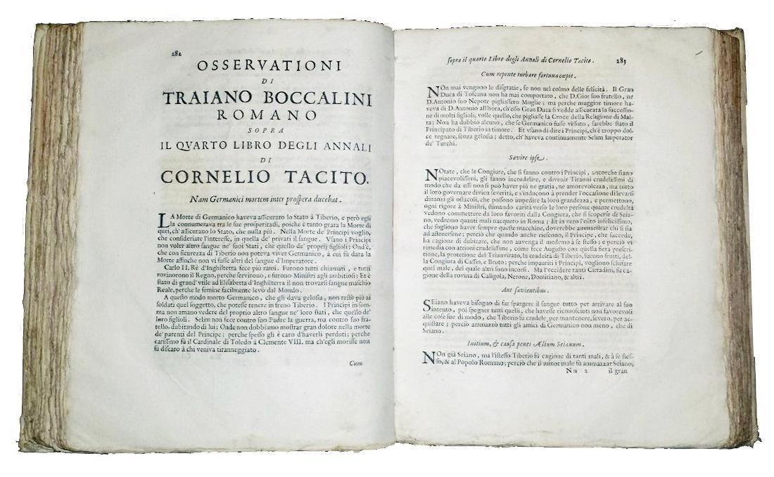 [Roman History, Forbidden Books] Tacitus, 1677 - 3