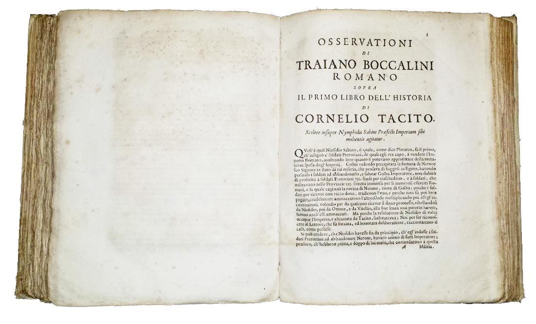 [Roman History, Forbidden Books] Tacitus, 1677 - 4