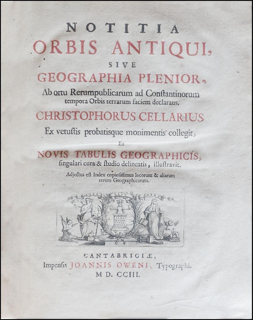 [World History & Geography] Cellarius, Cellarius, - 2