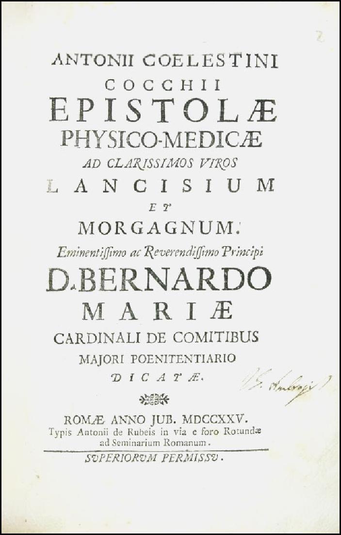 [Medicine, Earthquakes] Cocchi, 1725 - 2