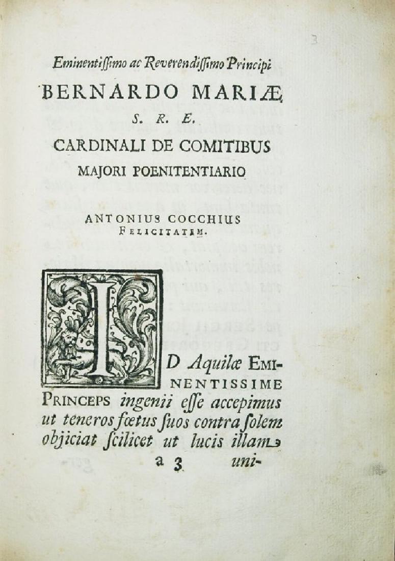 [Medicine, Earthquakes] Cocchi, 1725 - 3