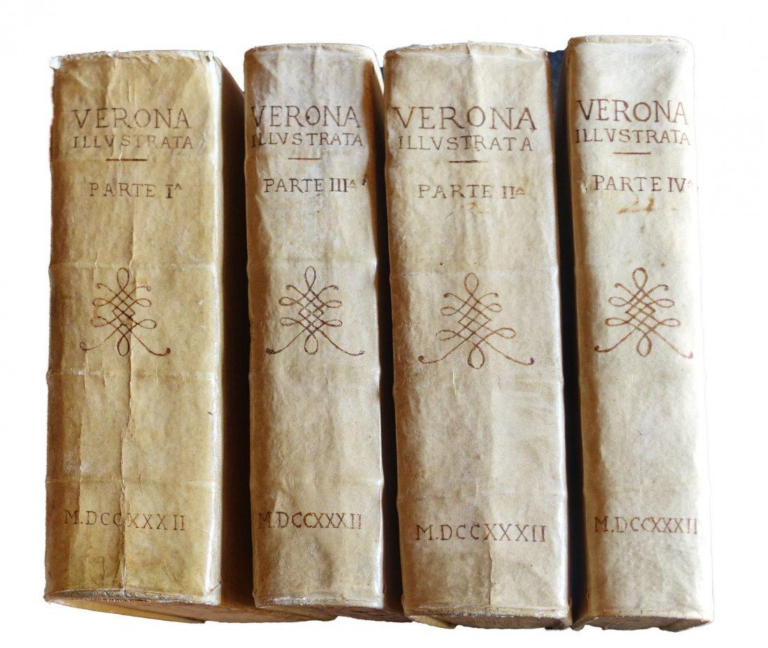 [Verona] Maffei, Verona Illustrata, 1731-32