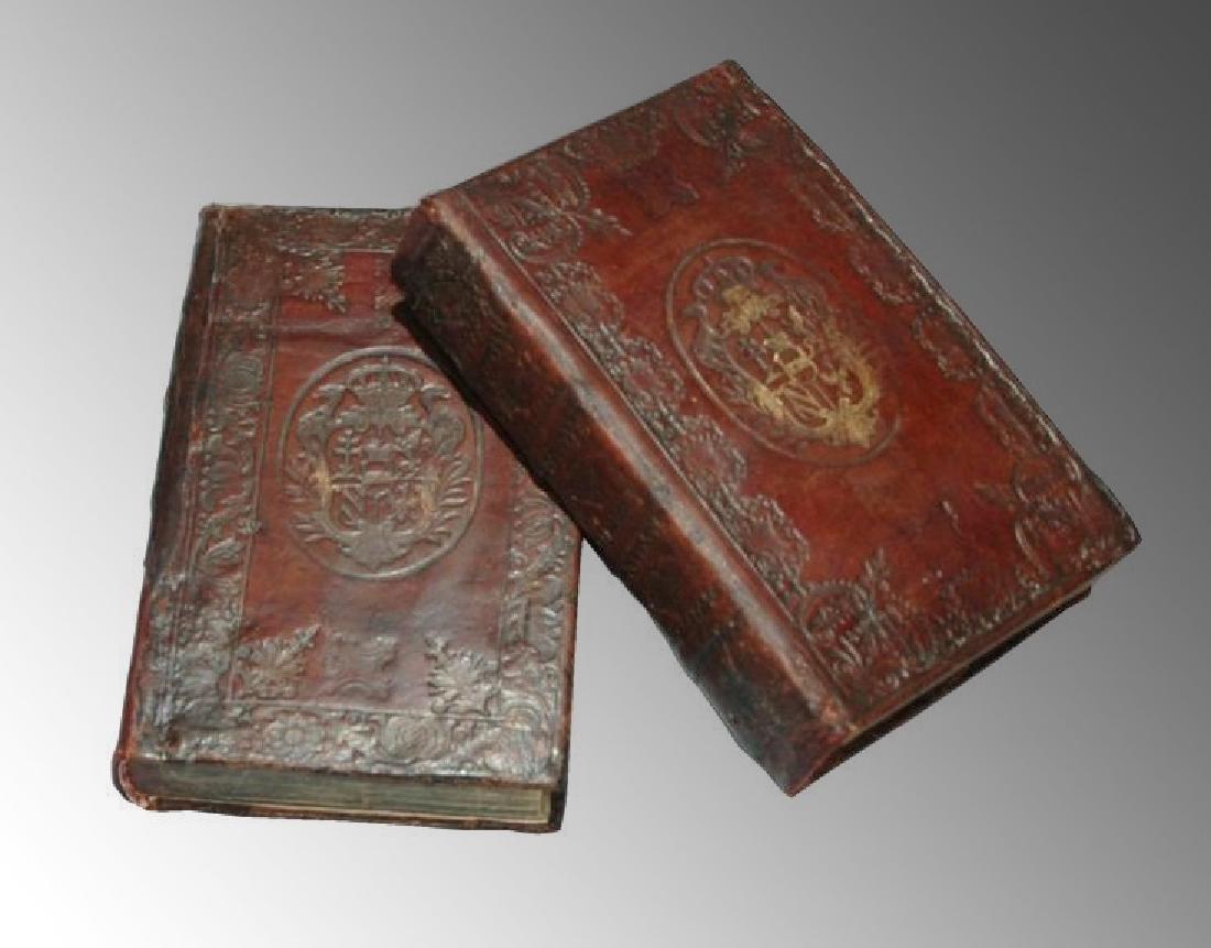 [Roman History, Binding] Nieupoort, 1732, 2 vols