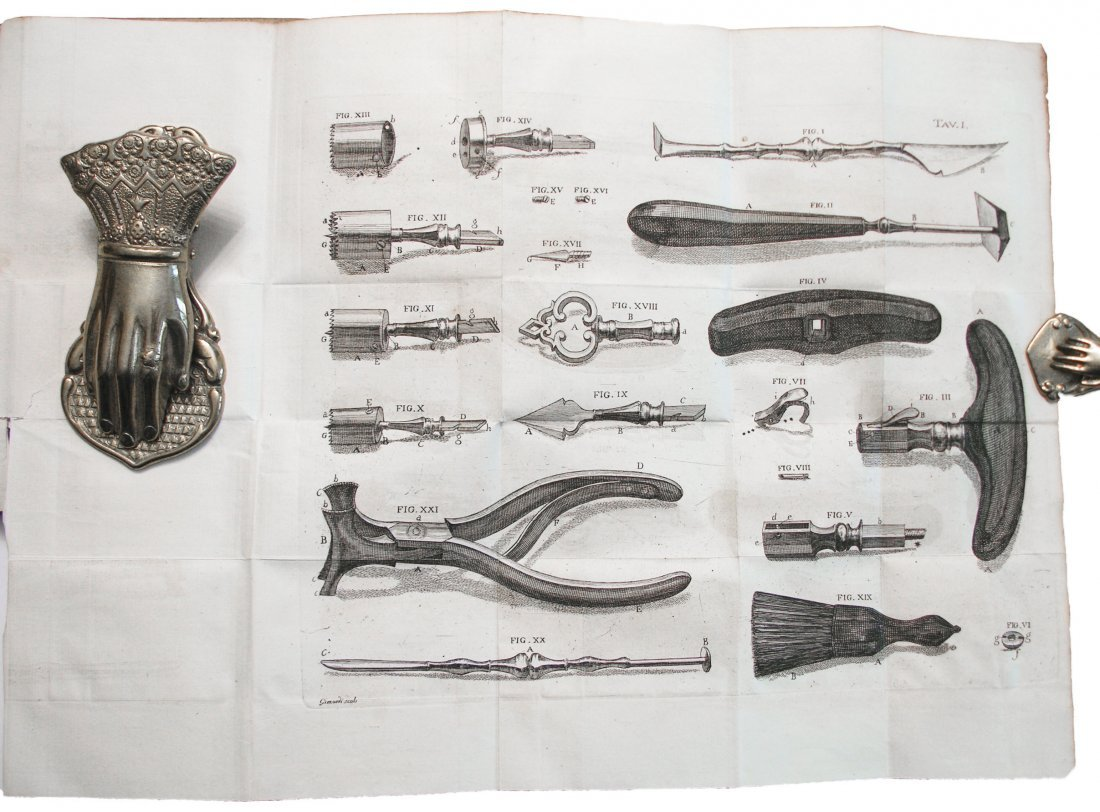 [SURGERY, TREPHINATION] Rouhault, Ferite al Capo, 1773