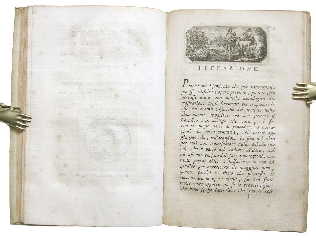 [SURGERY, TREPHINATION] Rouhault, Ferite al Capo, 1773 - 6