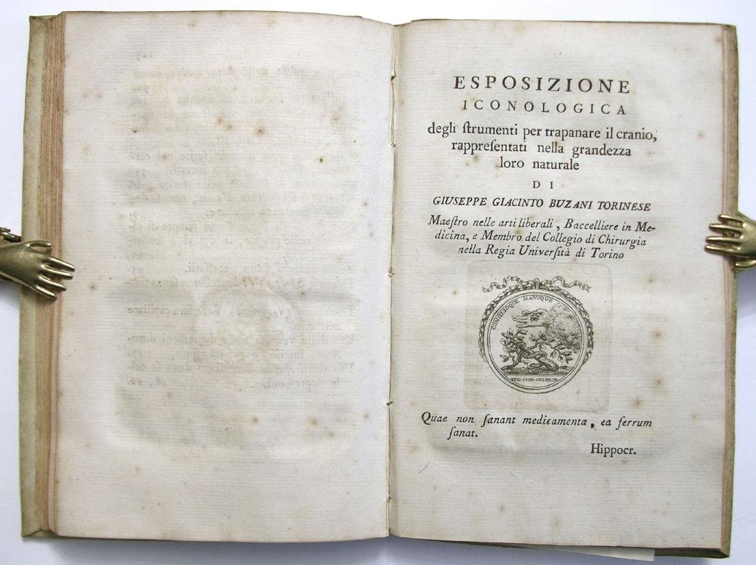 [SURGERY, TREPHINATION] Rouhault, Ferite al Capo, 1773 - 7