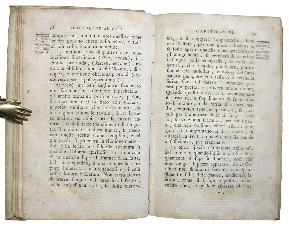 [SURGERY, TREPHINATION] Rouhault, Ferite al Capo, 1773 - 9