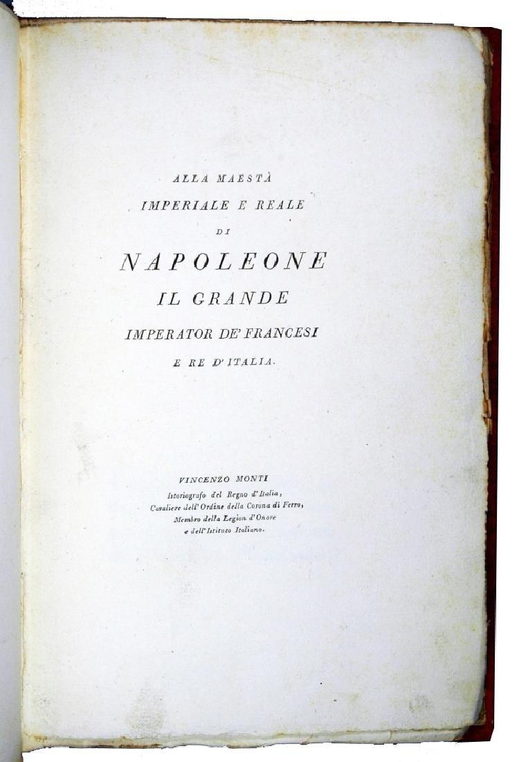 [Napoleon, Bodoni] Monti, Bardo, 1806 - 3