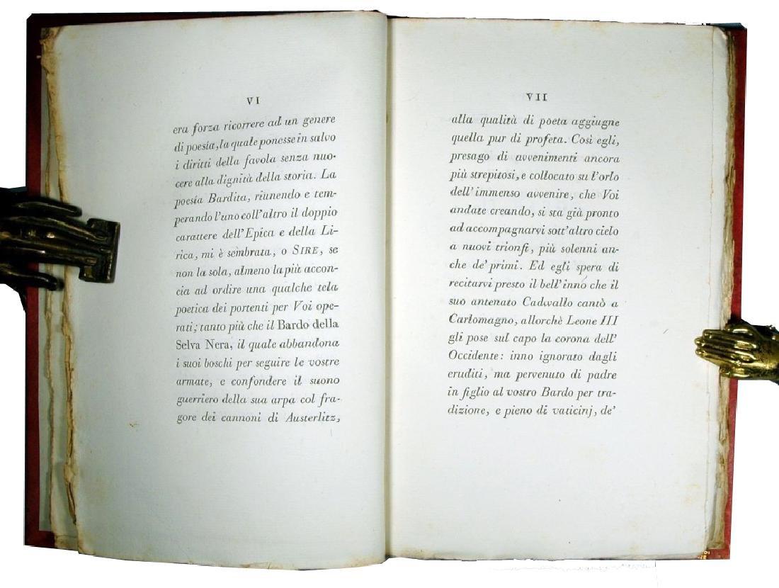 [Napoleon, Bodoni] Monti, Bardo, 1806 - 4