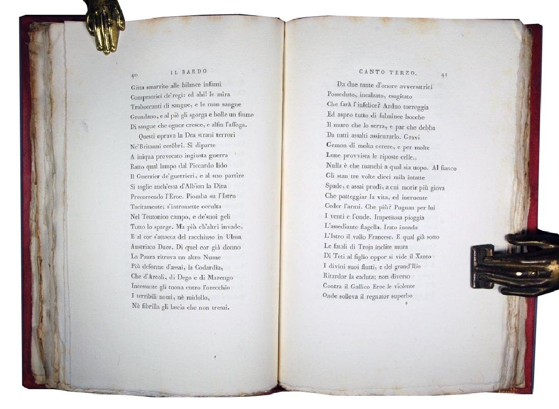 [Napoleon, Bodoni] Monti, Bardo, 1806 - 5