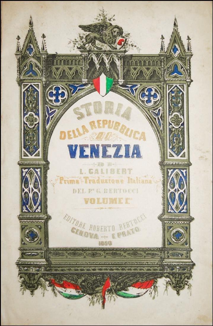 [Venice] Galibert, Storia di Venezia, 1850-51, 2 vols