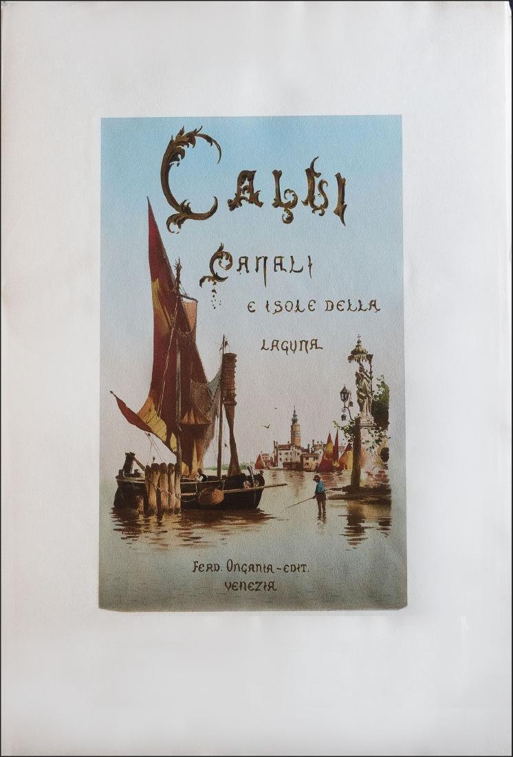 [Venice] Ongania, Calli, Canali e isole della Laguna