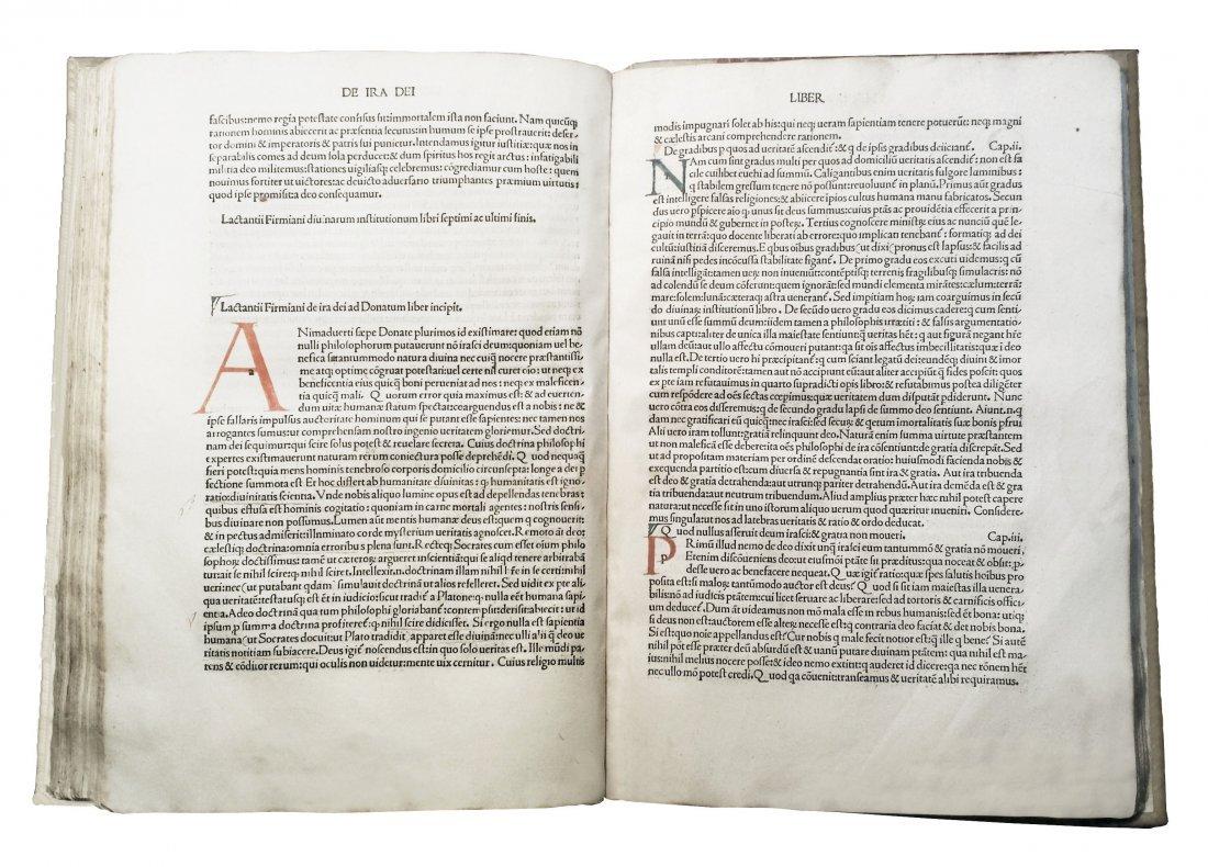[Incunabula] Lactantius, Opera, 1490 - 2