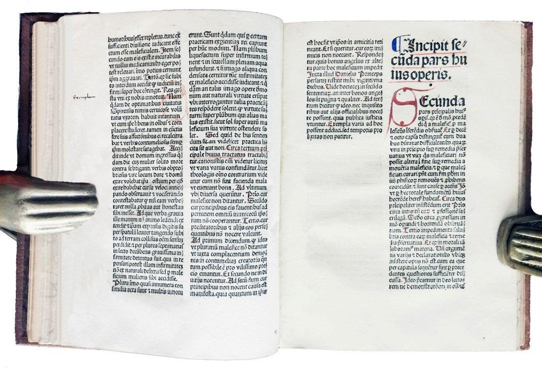 [Incunabula]  Malleus Maleficarum, 1492 - 2