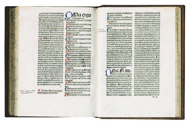 [Incunabula]  Malleus Maleficarum, 1492 - 3