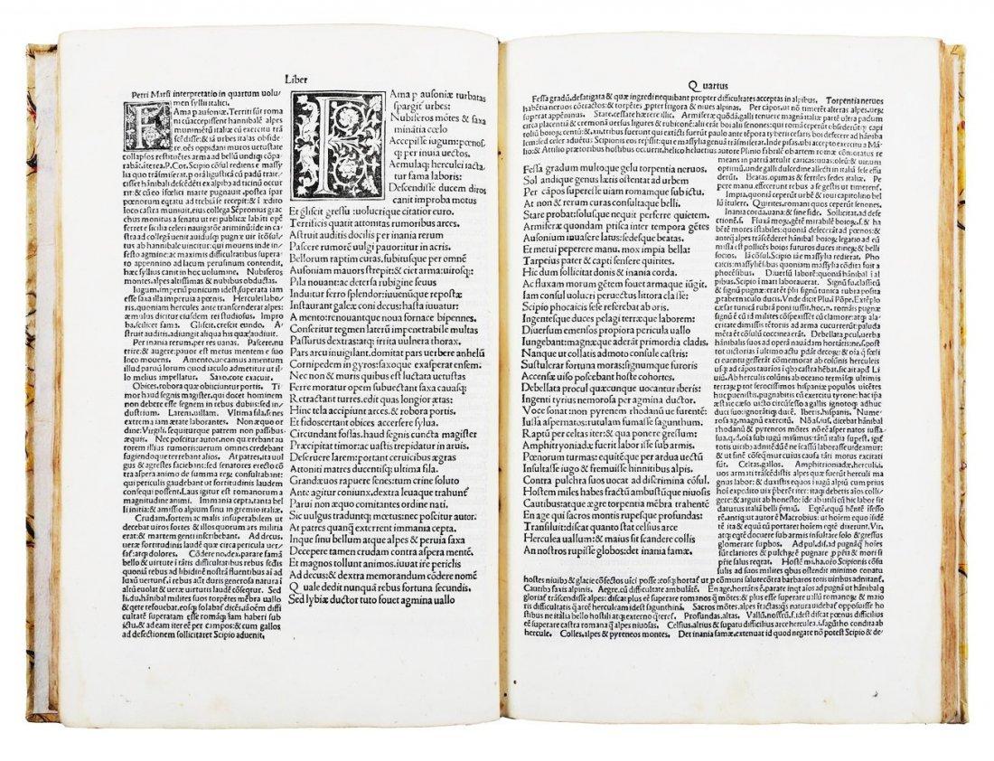 [Incunabula] Silius Italicus, Punica, 1492